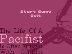 The Life Of A Pacifist Is Often Fraught With Conflict