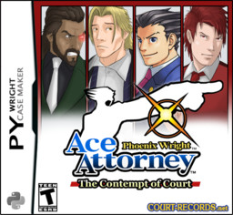Phoenix Wright: Ace Attorney - The Contempt of Court